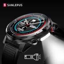2021 nova sanlepus relógio inteligente ip68 à prova dip68 água smartwatch das mulheres dos homens do esporte pulseira de fitness relógio para android apple huawei sw155