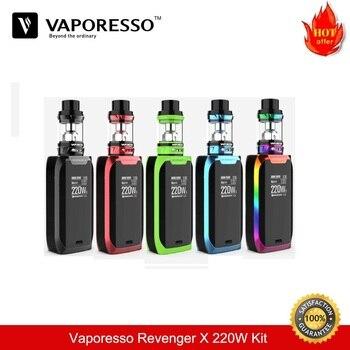 Vaporesso Revenger X Kit 220W TC Box Mod з 5мл NRG цыгарэты Vape Tank Electronicsque Vaporizer VS Voopoo Drag E-Cigarette Kets