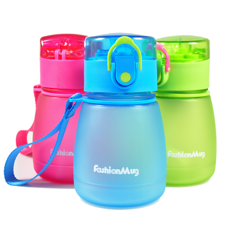 300ml Cute Kids Water Bottles with Straw bpa free Leakage Plastic Kids Water Bottle Drinking Bottles Gifts for Kids|Water Bottles| |  - AliExpress