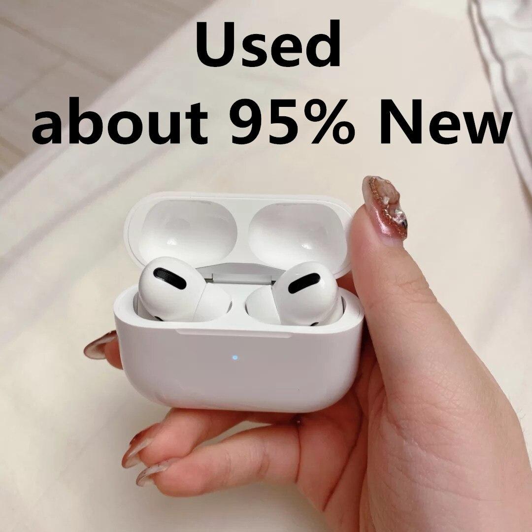 Б/у беспроводные наушники Apple AirPods Pro 3 2, Bluetooth наушники-вкладыши, Tws игровые спортивные наушники для IPhone, смартфонов Air