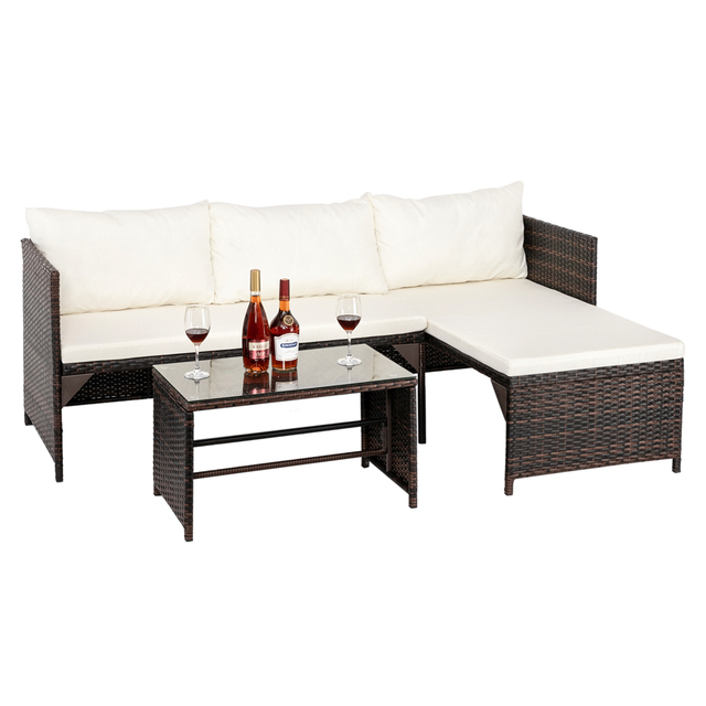 Sectional Patio Furniture Set 4