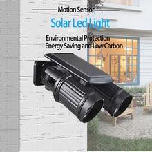 Solar Led Light Outdoor IP44 Waterproof Wall Lamp Outdoor Motion Sensor Ajustment Led Solar Streetlight Lampe Solaire Exterieur
