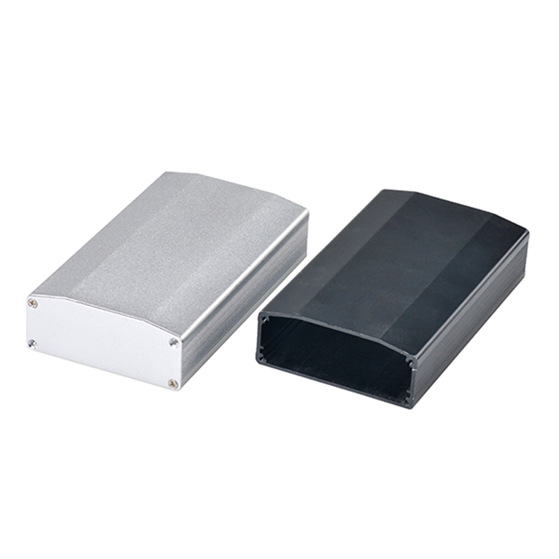 110*64*25.5 MM Black / Silver PCB Enclosure Aluminum Box Case for Amplifier Electronic Project Instrument 4.33»*2.52»*1.00»