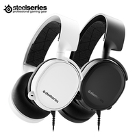 SteelSeries 2019 Edition ARCTIS 3 Wired Gaming Headphones ClearCast Noise Cancelling with Windows Sonic Spatial Audio for XBOX
