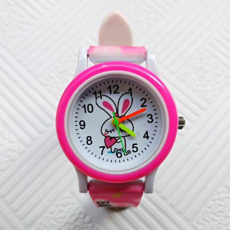 Newest Products Printed Strap Children's Watch Cute Rabbit Girls Watches For Kids Boys Clock Gift Child Casual Quartz Wristwatch