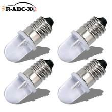 RUIANDSION 4 Pcs E10 AC 220V-230V Led-lampe Warnung Lichter 6000K 4300K Warm Weiß mechanische Anzeige Mini Arbeit Lampen 150lm