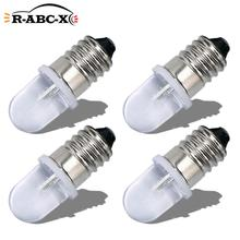 RUIANDSION 4 Pcs E10 AC 220V 230V Led lampe Warnung Lichter 6000K 4300K Warm Weiß mechanische Anzeige Mini Arbeit Lampen 150lm