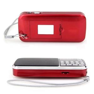 Image 5 - New Hot Portable Radio High Power MP3 Player Digital Audio Music Player with LED Flashlight