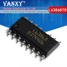 5PCS L6386D SOP16 L6386 SOP L6386DTR SOP-16 SMD