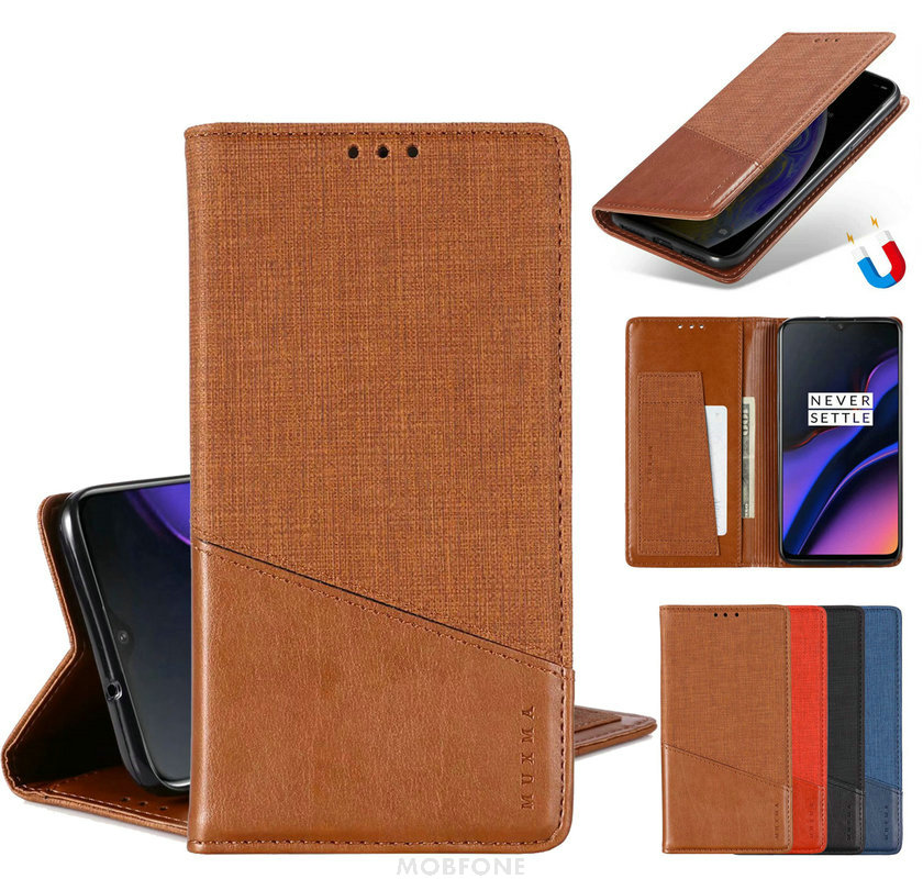 Vintage For <font><b>OPPO</b></font> <font><b>A5</b></font> / A9 2020 Flip Auto Magnetic Closed Stand <font><b>Wallet</b></font> Book Cover realme 5 Pro Retro RENO Z Capa <font><b>Cases</b></font> RENO 2 Bag image