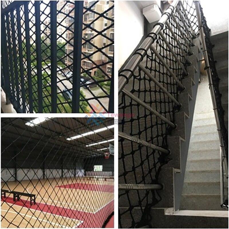 net proteger escadas de rede de segurança