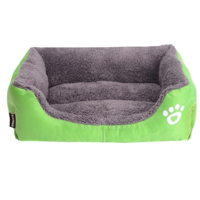 (S-3XL) Large Pet Cat Dog Bed 8Colors Warm Cozy Dog House Soft Fleece Nest Dog Baskets Mat Autumn Winter Waterproof Kennel 5