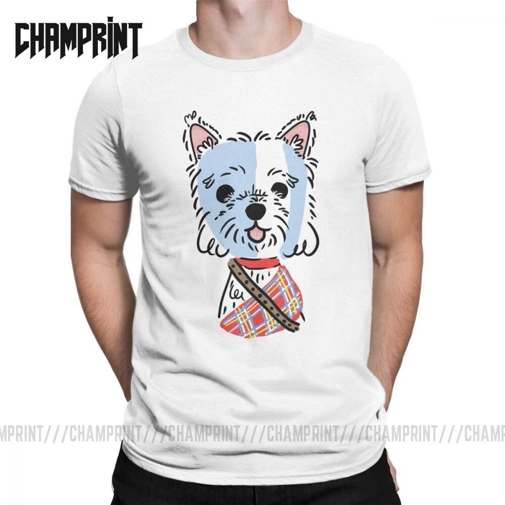 Men's T-Shirt Braveheart Westie Vintage Cotton Tees West Highland White Terrier Terrier Dog T Shirt Clothes Plus Size Plus Size