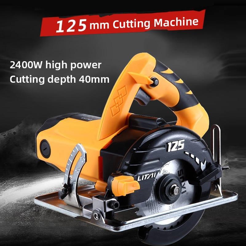4800W Power Circular Saw Machine Floor Tile Cut Machine Ceramic Stone Cutting Machine Industrial Cutter Grade Woodworking Tools