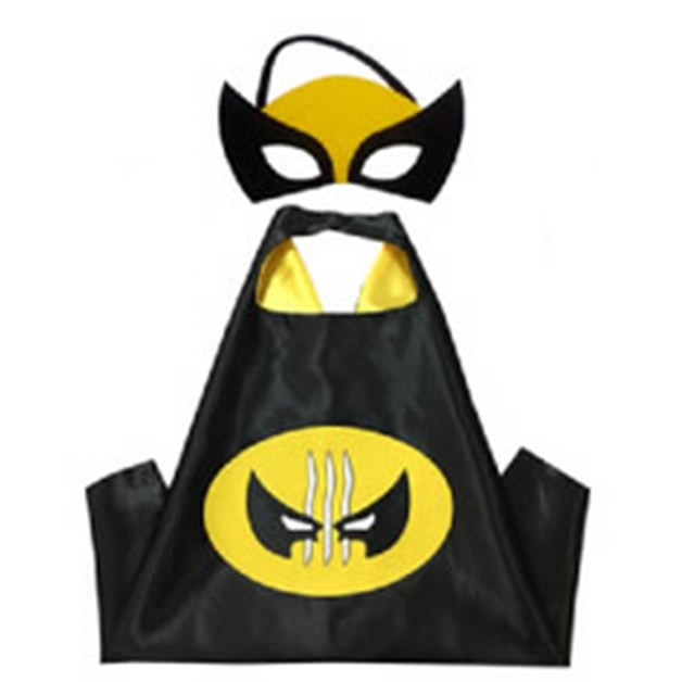 2019 Superhero Capes with Masks for Kids Birthday Party Supplies Party Favor Halloween Costumes Dress Up Girls Boys Cosplay 2