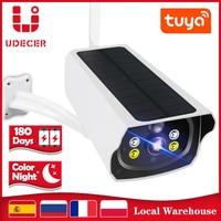 Solar Panel WIFI Kamera 1080P HD Draht-Freies Batterie IP Kamera Outdoor IP66 Wasserdichte 2MP Sicherheit CCTV Video PIR Motion
