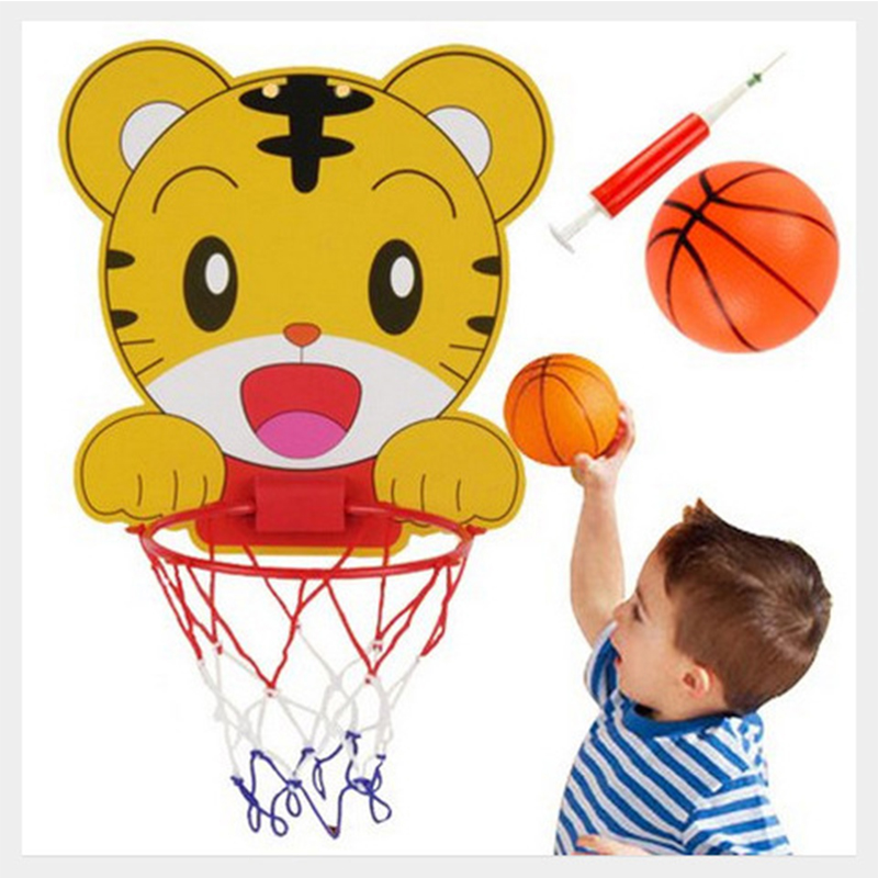 Baby Basketball Set Hanging Type Frame Baby Toys Kids Sports Toys Rinquedos Simple Portable Basketball Kids Games Toys