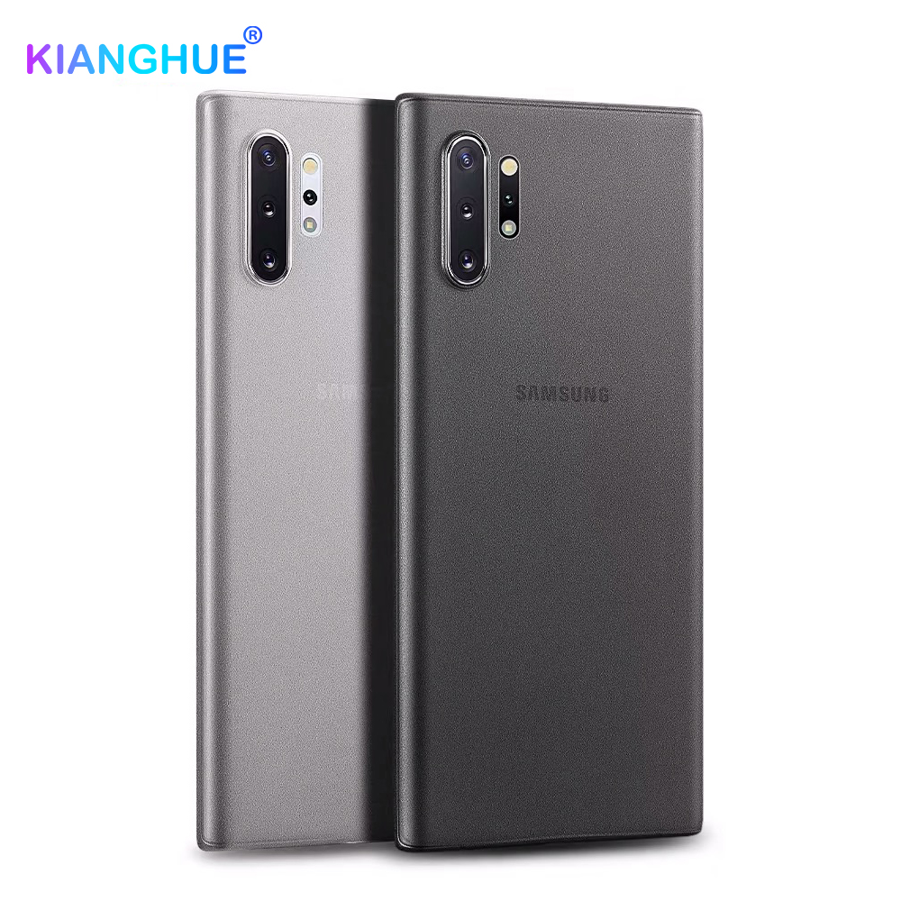 0.3mm Ultra Thin <font><b>Case</b></font> For <font><b>Samsung</b></font> Note 10 Pro 8 9 S10 <font><b>S9</b></font> S8 Plus S10e Matte Transparent Back Cover <font><b>Case</b></font> Slim <font><b>Shockproof</b></font> Coque <font><b>S9</b></font> image