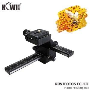 Image 5 - Kiwi Macro Focusing Rail Slider for Canon EOS 5D Mark IV III 6D Mark II 90D 80D 70D Nikon D750 D780 D850 Z7 Z6 Z5 Z50 Sony Fuji