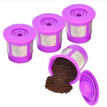 Stainless Steel Refillable Reusable Coffee Capsule Strainer Coffee Pod Filters for Nespresso