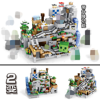 Lepin Minecraft HOT Sale The Mechanism Cave Steve Alex Witch Building Blocks Compatible LegoINGly MinecraftINGlys Toys Bricks For Gifts 2