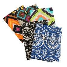 Tissu en coton Polyester imprimé ethnique, fait à la main, housse de canapé, matelassé, tissu de tablier JA145