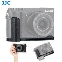 JJC DMW-HGR2 a sgancio rapido L piastra supporto L staffa impugnatura treppiede per Panasonic Lumix GX9 GX85 GX80 GX7 Mark III II fotocamera