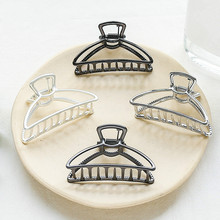 1 pc Women Geometric Alloy Hair Claws Clips Girls Large Making Tools Elegant party Accessories Hairdressing Tool
