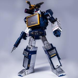 Image 3 - التحول G1 THF 01J THF01J Soundwave واحد الشريط وكمان تحفة KO MP13 سبيكة كبيرة الحجم عمل أنيمي الشكل ألعاب روبوتية