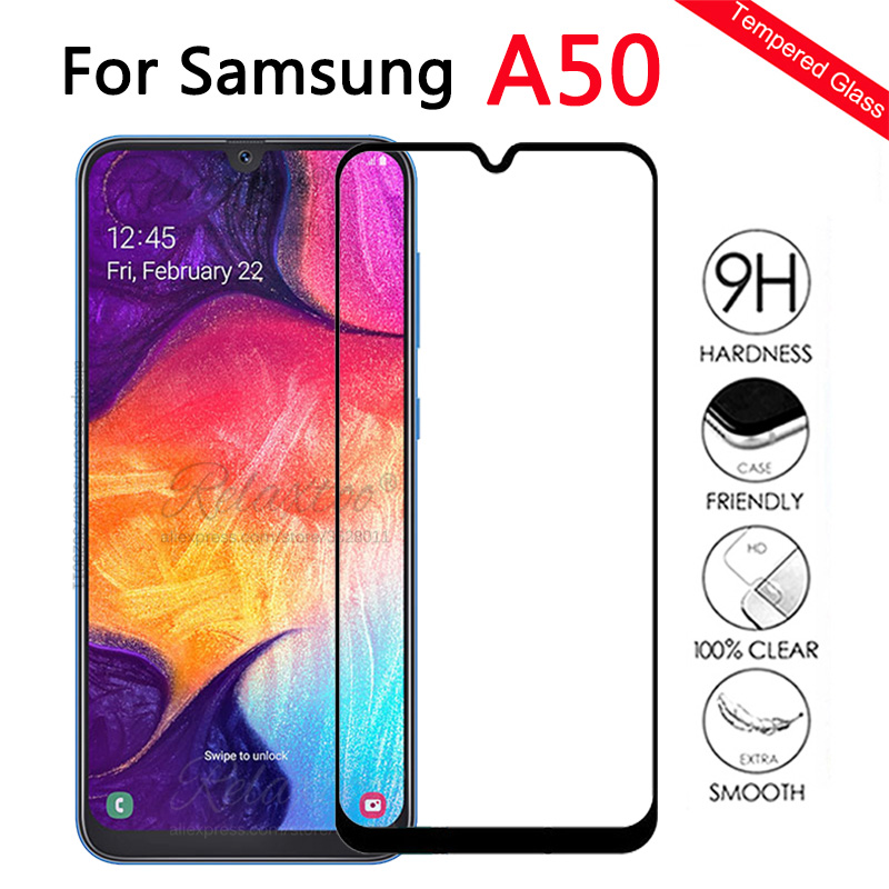 Protective <font><b>Glass</b></font> For <font><b>Samsung</b></font> <font><b>A50</b></font> <font><b>Screen</b></font> <font><b>Protector</b></font> On the For <font><b>Samsung</b></font> Galaxy <font><b>A50</b></font> Tempered Glas a 50 sm-A505F A505 display Film 9h image