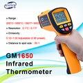 BENETECH GM1650 Инфракрасный термометр бесконтактный пирометр ИК лазерный точечный пистолет с подсветкой 200 ~ 1650 градусов для использования в дома...