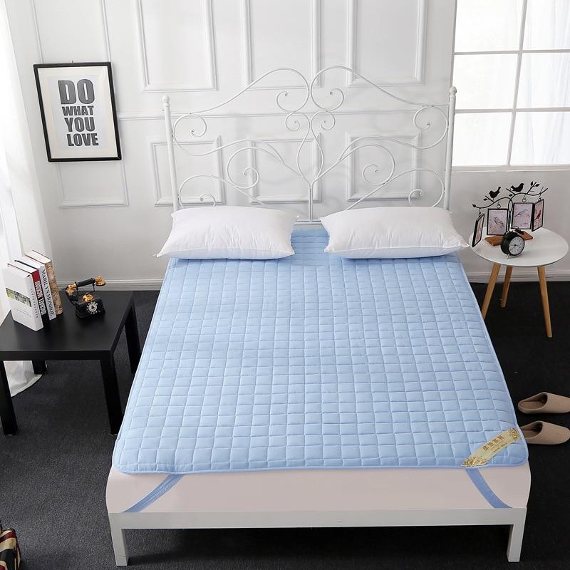Matelas Anti-bactérien pliable lavable de tapis paresseux de Tatami de couleur Pure pour le rebond élevé d'épaississement de salon/plancher