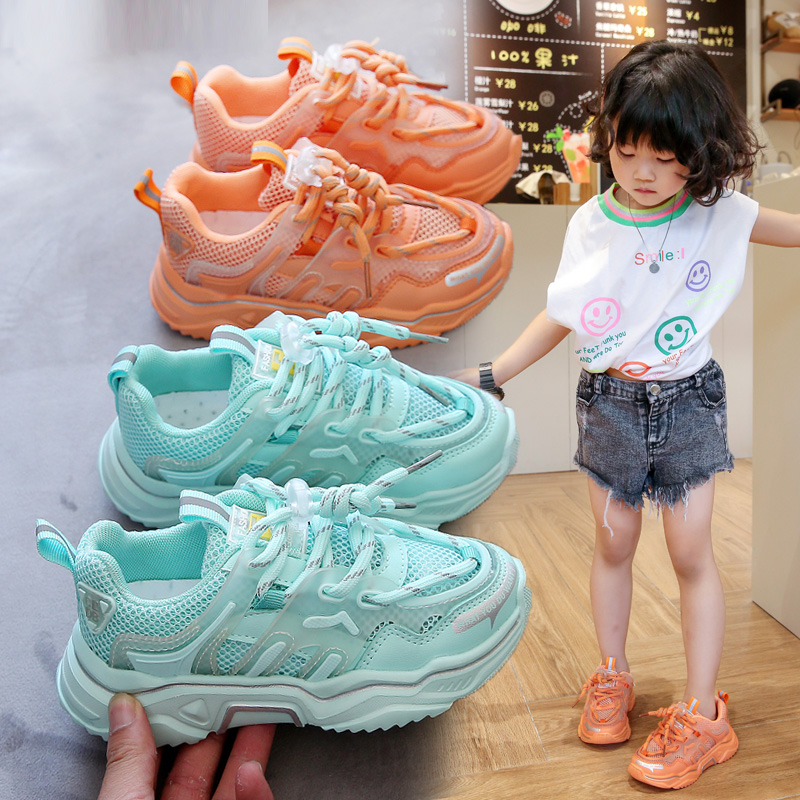 2020 Summer Kids Sneakers Girls Shoes Comfortable Casual Children Sports Shoes For Girl Running Child Shoes Chaussure Enfant
