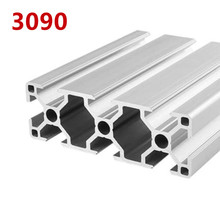 1pcs/lot 3090 Aluminum Profile Extrusion 100mm-500mm Length Linear Rail 200mm 400mm 500mm for DIY 3D Printer Workbench CNC