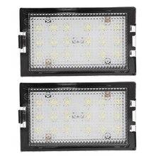 2 uds libre de Error luz LED de matrícula lámpara para tierra Range Rover Sport L320 2005-2013
