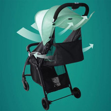 Baby Stroller Foldable Pram High Landscape Buggy Lightweight