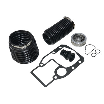 U-Joint Replacement Transom Clamp Durable With Gasket Black Practical Bellows Repair Kit Tools For OMC 1986-1993 911826