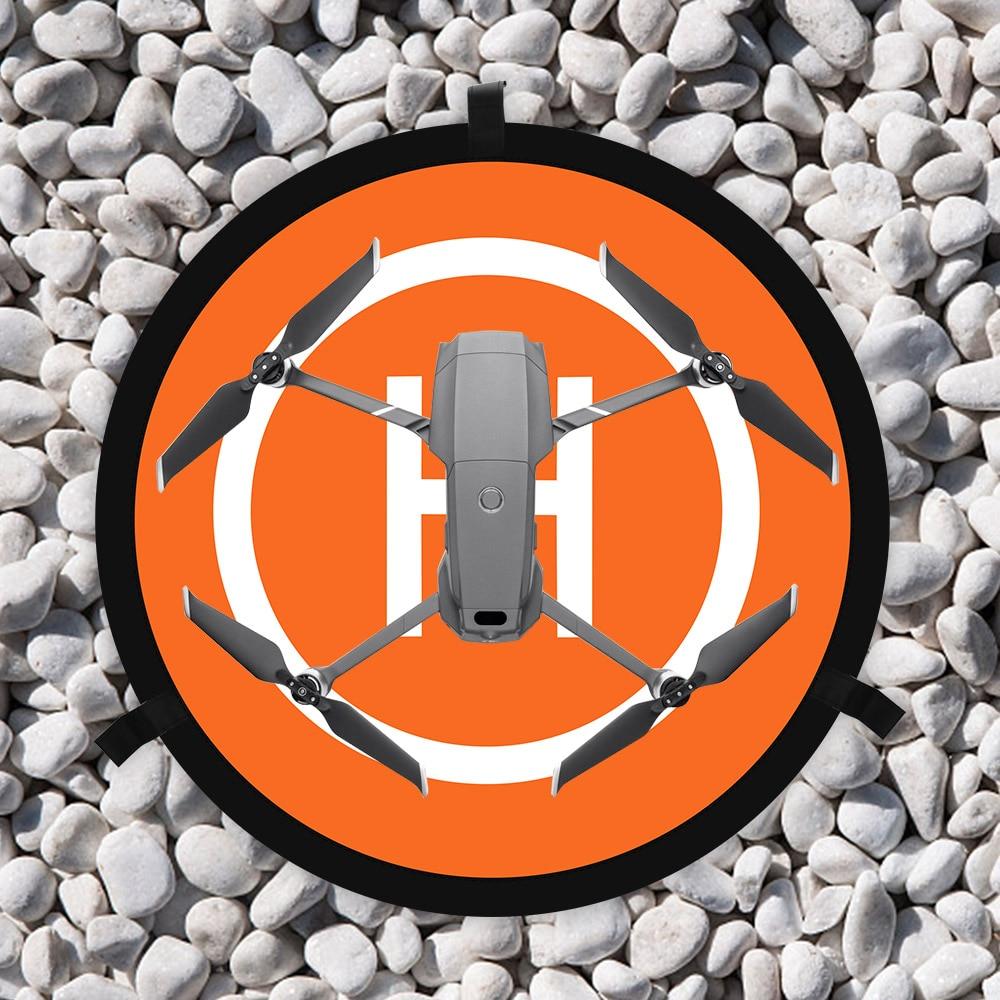55 70 75 80CM Landing Pad Helipad for DJI Mavic Mini 2 Pro Zoom Air 2 Spark Phantom 3 4 FIMI X8SE Drone Parking Apron Accessory