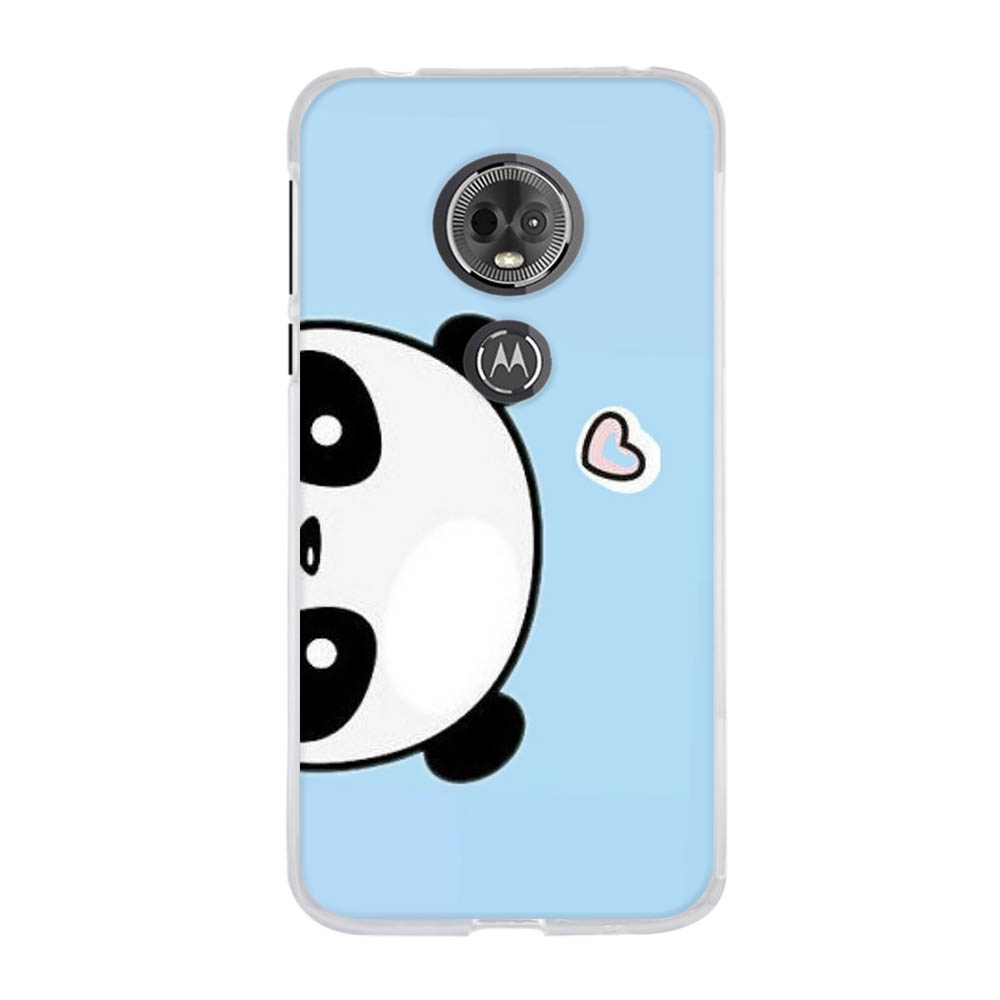 For Motorola Moto E5 Case Soft TPU Silicone For Motorola Moto G6 Play Cover Butterflies Pattern For Motorola Moto E 5th Gen Bag in Fitted Cases from Cellphones Telecommunications