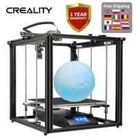 CREALITY 3D Ender-5 Plus 3D impresora Dual z-axis V2.2 fuente de alimentación de la marca principal con Sensor de filamento de impresión