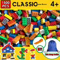 Building block creative brick model character education children building block toy small size all available free storage bag