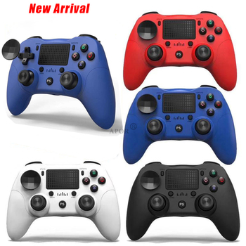 цена на For Wireless Gamepad Controller For Playstation Dualshock PS4 4 Bluetooth Joystick Gamepads for PS4/PS4 Pro Silm PC game