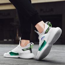 2020 New Fashion Sneakers Lightweight Men Casual Shoes Breathable Male Footwear Lace Up Walking Shoe men shoes casual canvas lightweight lace up sneakers breathable jogging skateboard men flats slip shoes male footwear nanx201