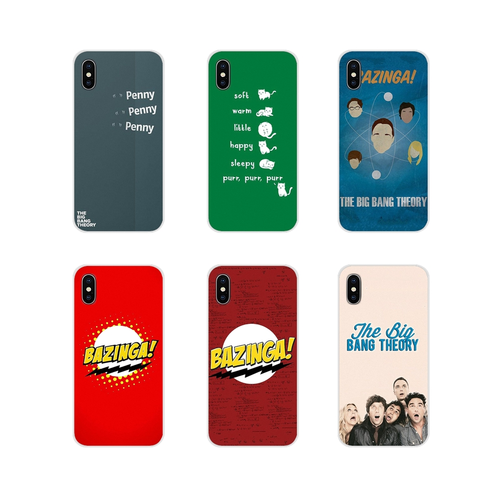 Accessories <font><b>Phone</b></font> <font><b>Cases</b></font> Covers <font><b>Big</b></font> <font><b>Bang</b></font> Theory Bazinga For Xiaomi Redmi 4A S2 Note 3 3S 4 4X 5 Plus 6 7 6A Pro Pocophone F1 image