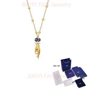 Изысканный новый Таро волшебный кулон ожерелье Таро ручной кристалл красивый темперамент женское ювелирное изделие лучший романтический ...