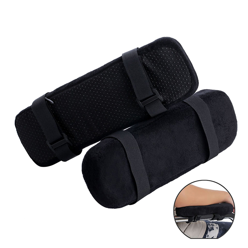 1Pcs Smelov Office Chair Parts Arm Pad Memory Foam Armrest Cover Cushion Pads For Home Office Chair Comfortable Elbow Pillow