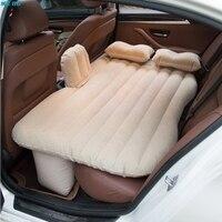 Multi funcional carro inflável colchão de ar cama assento traseiro almofada travesseiros bomba viagem acampamento praia resto viagem gramado piquenique|Bancos p/ quintal|Móveis -