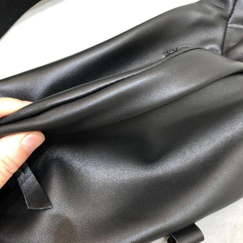 Genuine Leather Chest Shoulder Bag Cool Waist Packs for Female Cowhide Women Capacity High Quality Belt Saddle Shoulder Bags