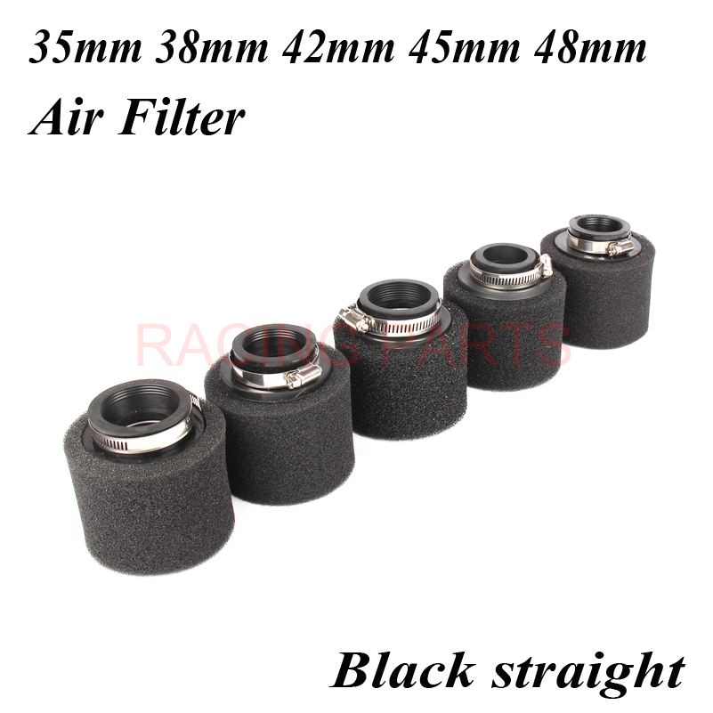 35mm 38mm 42mm 45mm <font><b>48mm</b></font> Neck Foam <font><b>Air</b></font> <font><b>Filter</b></font> Sponge Cleaner Moped Scooter CG125 150cc Dirt Pit Bike Motorcycle image