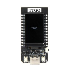 Ttgo t-display esp32 wifi e placa de desenvolvimento do módulo bluetooth para arduino 1.14 Polegada lcd(China)